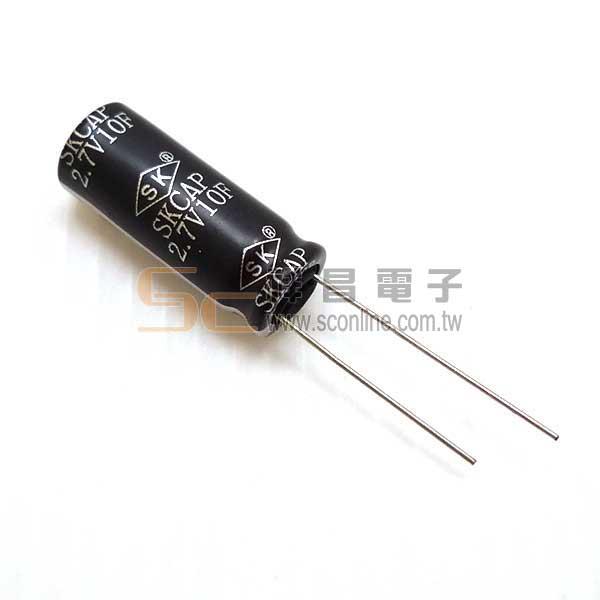 SC-10F-2V7超級電容10F/2.7V
