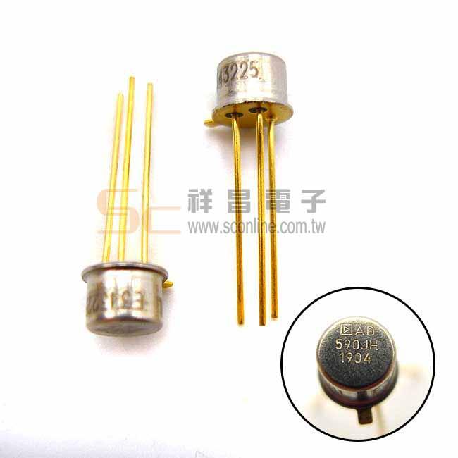 AD590 溫度感測器 溫度傳感器 IC半導體 (1入)