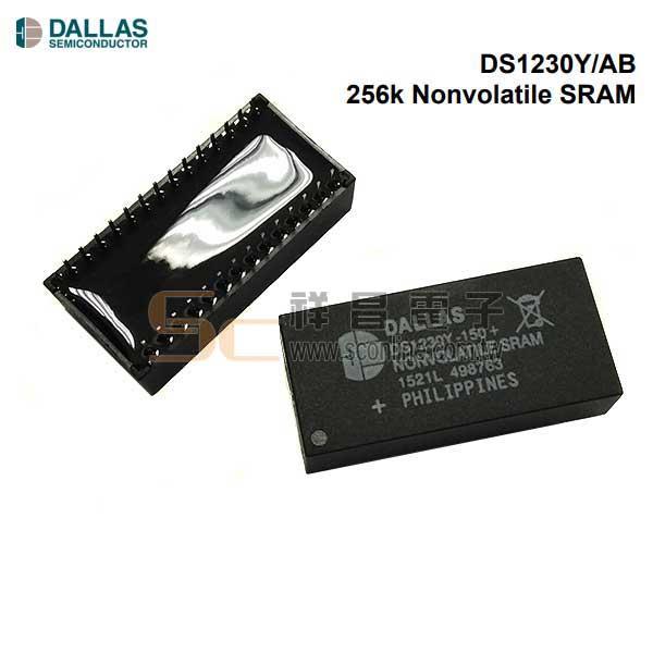 DALLAS DS1230Y-150+ SRAM Memory, 256kbit, 150ns, 5 EDIP 28-Pin