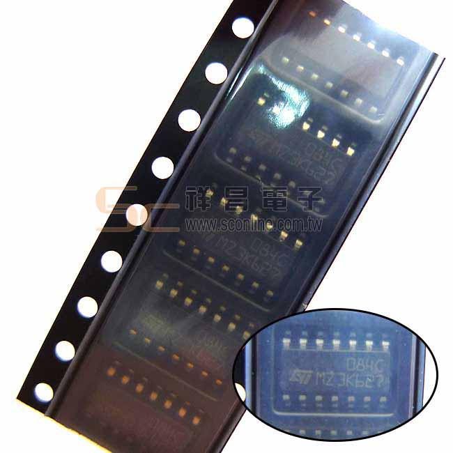 TL084 SMD 四運算放大器 IC半導體 (1入)