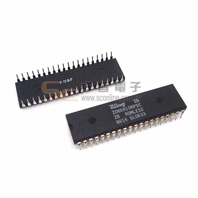 Zilog Z0868108PSC DIP 40PIN IC