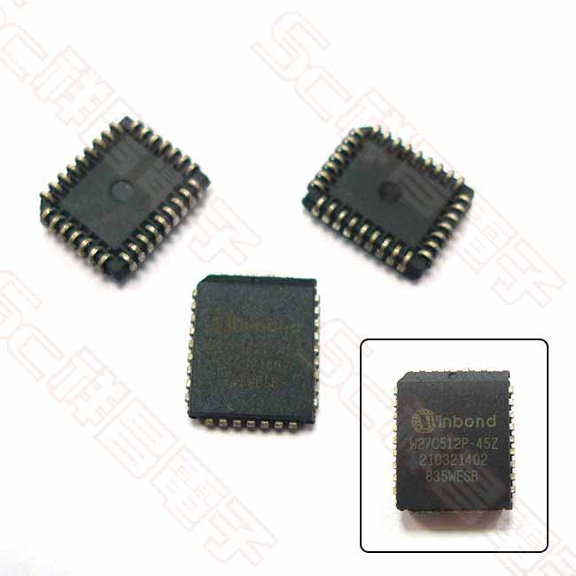 27C512 PLCC 積體電路 IC晶片