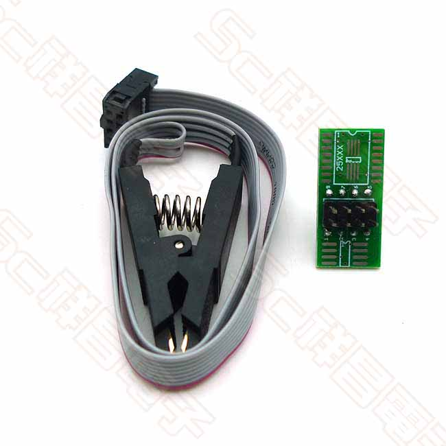 燒錄晶片夾 SPO8腳/16腳 BIOS夾子/測試夾/通用夾/適配夾 X0165