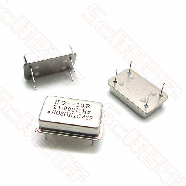 石英振盪器 晶振 長方形 9K-OSC 24M DIP-4 直插 FULL無