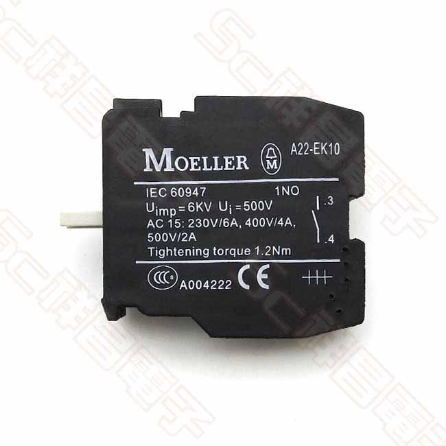 EATON MOELLER A22-EK10開關接點 (NO接點)