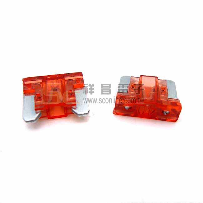 40A 11mm 汽車 FUSE 保險絲 (無角/無腳型) (深橘色) 11mm平腳 汽車保險絲