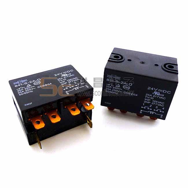 Song Chuan 841-S-2A-D 24VDC 繼電器