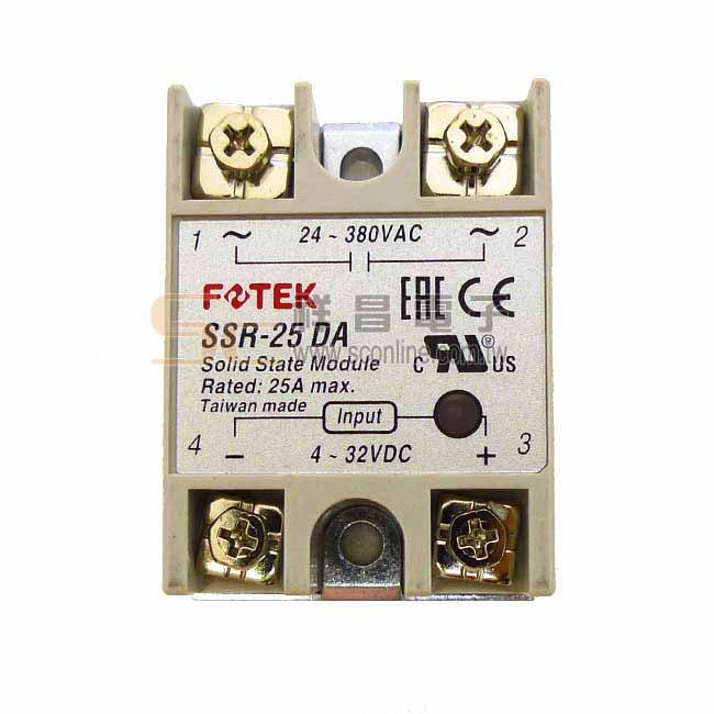陽明 FOTEK SSR-25DA固態繼電器