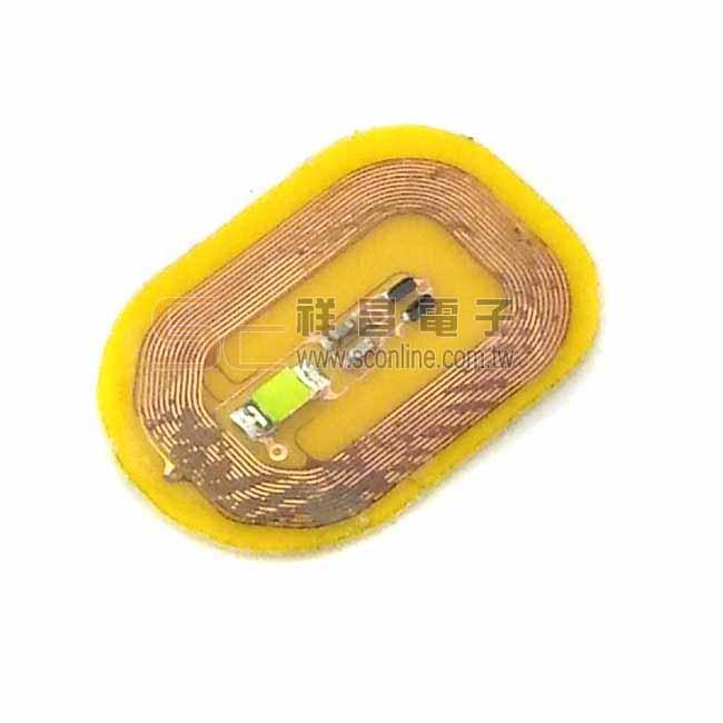 高頻NFC 13.56MHZ感應式發光標籤 (冰藍光)