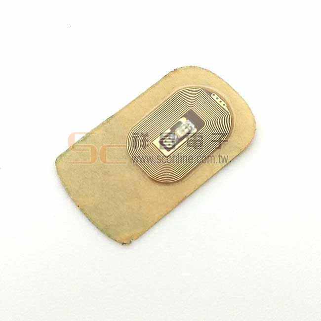 高頻NFC 13.56MHZ感應式發光標籤 (紅光)