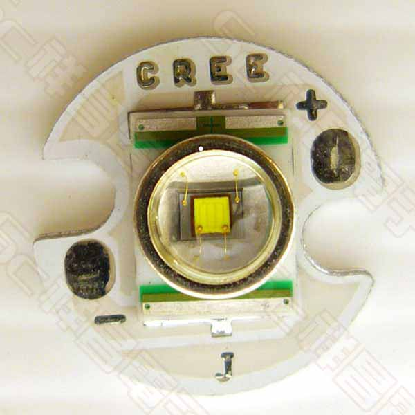 CREE Q5 高功率LED 白光 3.6V-4.1V 350mA 亮度107-114 lm/最大電流1000mA(220-240lm)