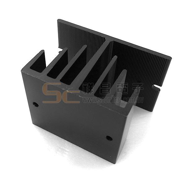 固態繼電器 散熱座 SSR專用散熱器 HS-50H (小)