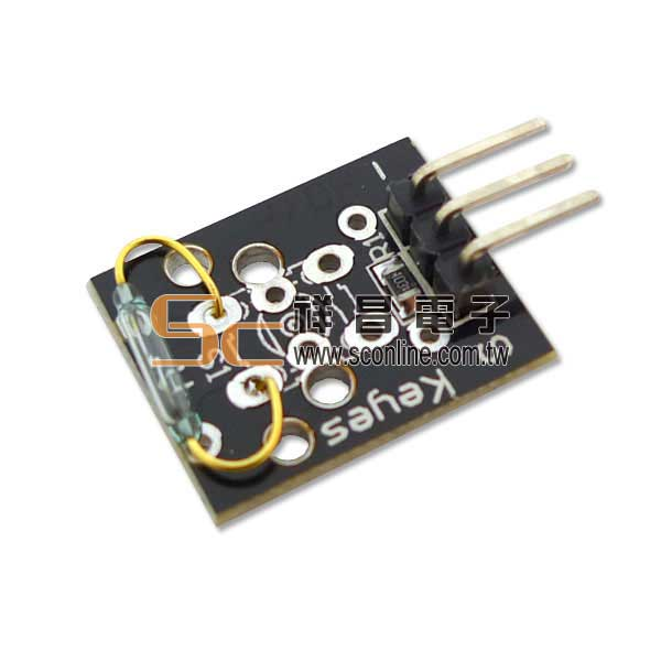 Arduino 傳感器 #37-18 Mini Reed 迷你磁簧
