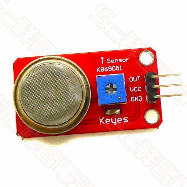 Arduino 煙霧傳感器 MQ-2