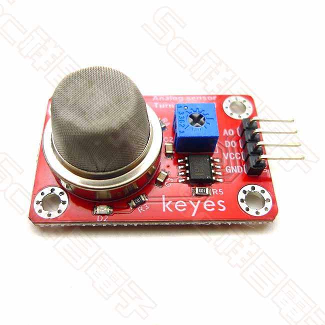 4PIN 煙霧傳感器 煙霧氣體感測器 MQ-2