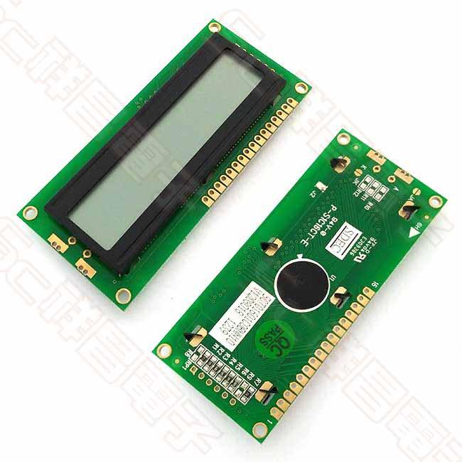 LCD 1 x 16 無背光 液晶顯示器模組 顯示板