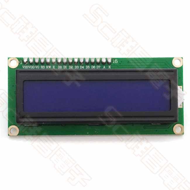1602 液晶螢幕 藍白屏 + IIC 1602LCD轉接板