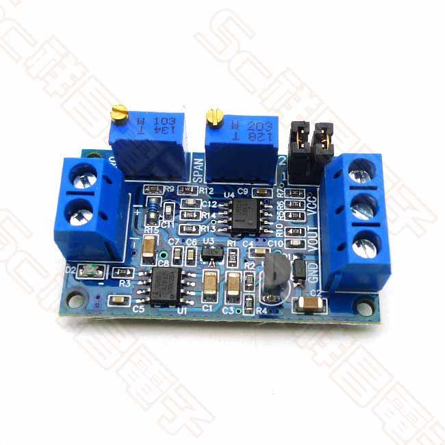 Arduino系列 電流轉電壓模組 4-20mA轉0-33V/0-5V-0-10V 電壓變送器 信號轉換調理 X0164