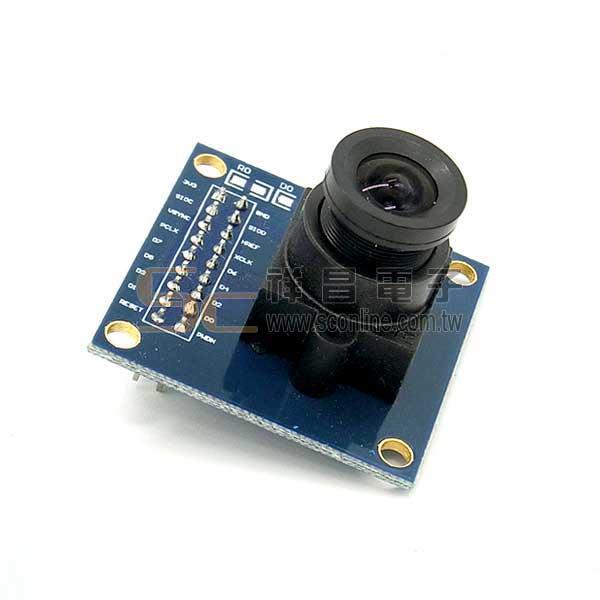 Arduino OV7670 攝像頭模組