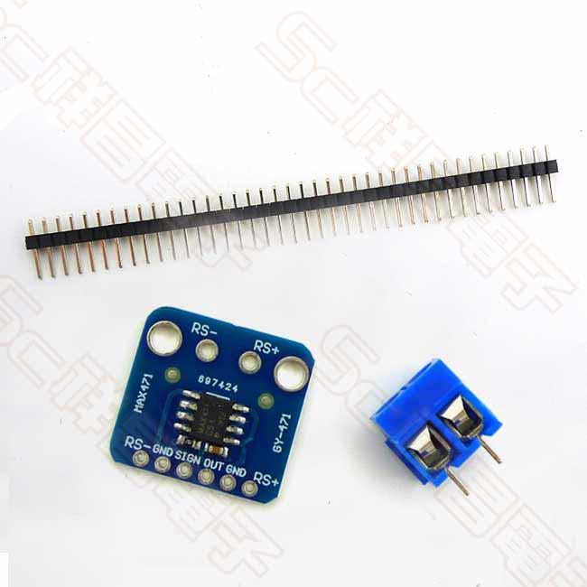 MAX471 3A 電流感測器模組
