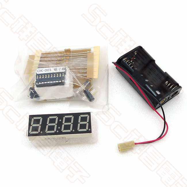 OK-001 數位簡易電子鐘 套件