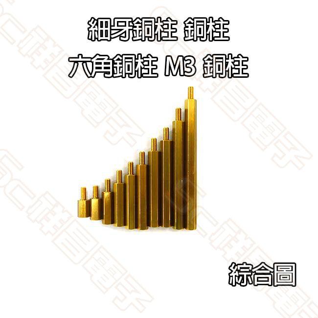 5.0cm 銅柱 (細牙) (單顆)