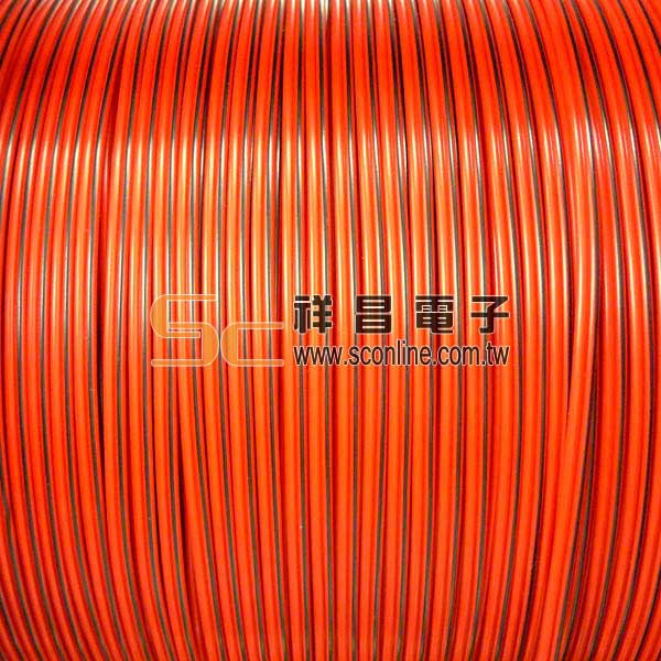 100芯 喇叭線 200M ( 帶輪 ) - 紅黑
