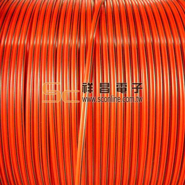 14芯 喇叭線 500M ( 捲 ) - 紅黑