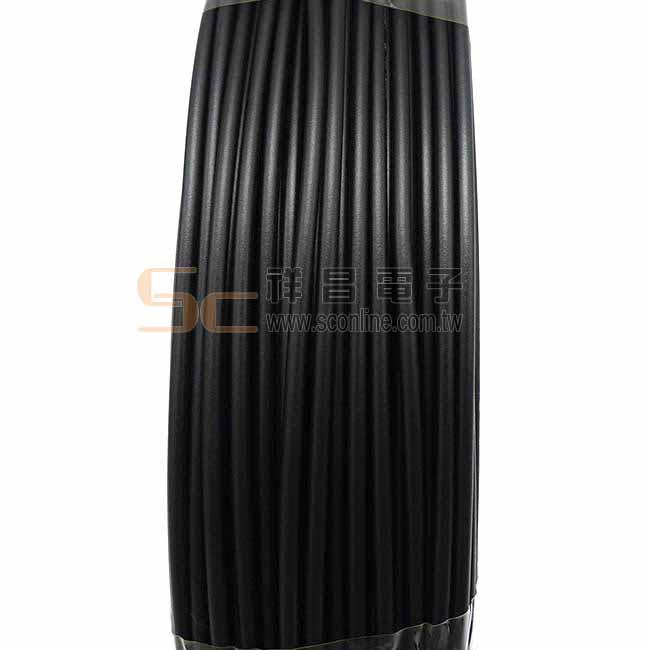 宏泰 600V 聚氯乙烯絕緣電線(IV) 1.2mm銅 100M (黑色)
