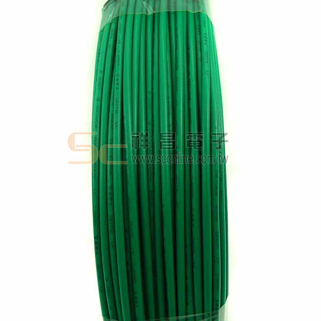 宏泰 600V 聚氯乙烯絕緣電線(IV) 1.2mm銅 100M (綠色)