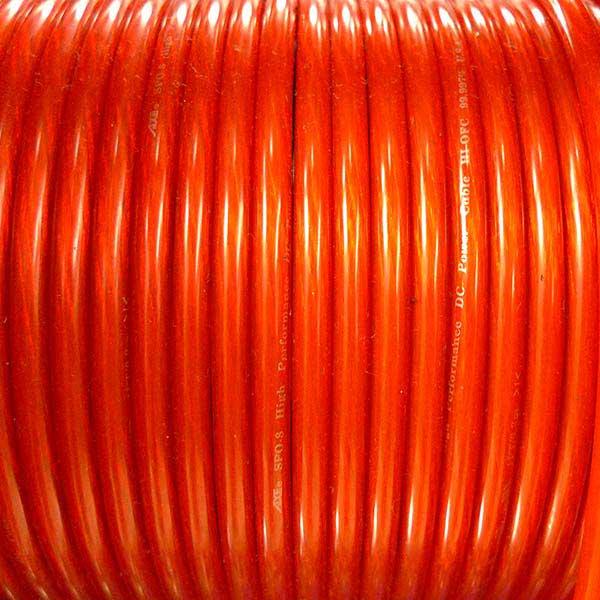 紅電線 8AWG 80M (捲)
