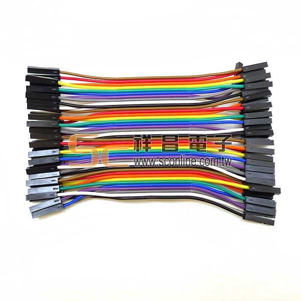 彩虹排線 母-母 10cm