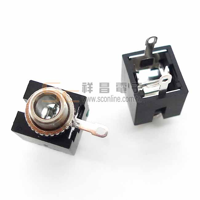 小型 3.5mm 耳機座 (單音) (黑色)