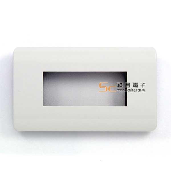 雅韻 三孔卡式蓋/資訊面板/插座/組合式 白色
