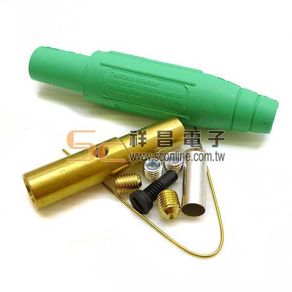 美製 MARINCO CAM型 電纜接頭 150A/600V 母 橡膠 (綠色)