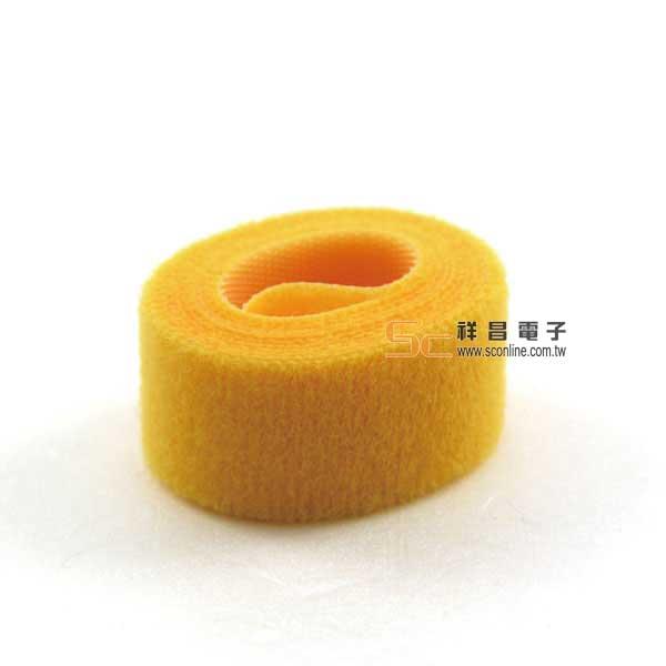 雙面粘扣帶(黃色) 寬2cm/長90cm