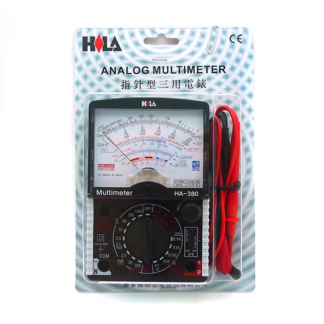 HA-380 指針三用錶