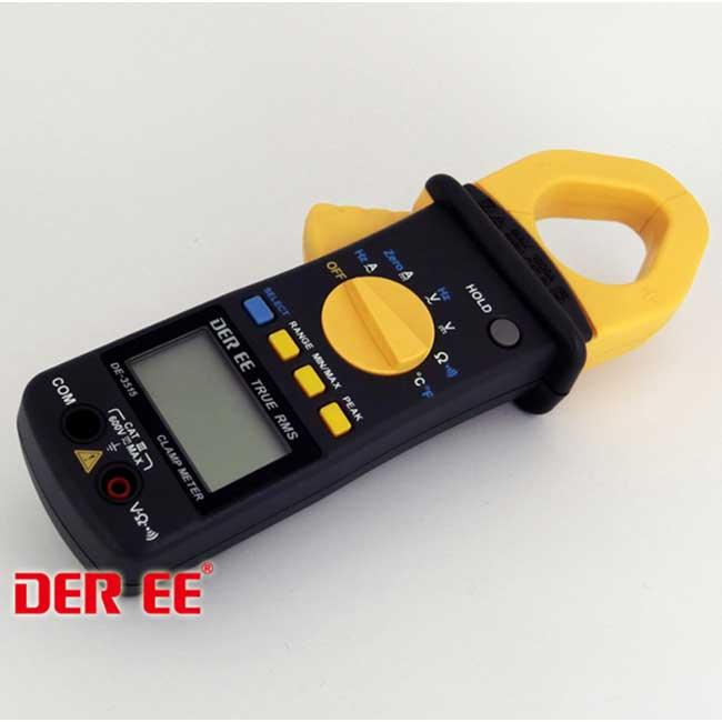 DER EE 得益 DE-3515 AC/DC鉤錶 交直流數位鉤錶 交流钳表 電流钳表 電流鉤錶