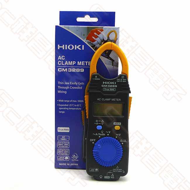 HIOKI CM3289 超薄交流勾表 超薄型鉤錶 電流勾表 鉤表 鈎表 電錶