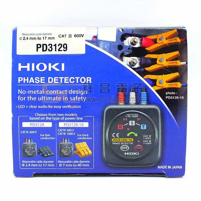 HIOKI PD3129 相序計/相位計