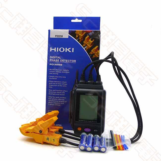 HIOKI PD3259 相序計 非接觸式電壓 相序表