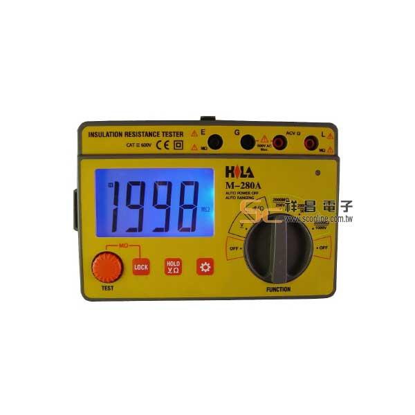 M-280A 數字三段式高阻計