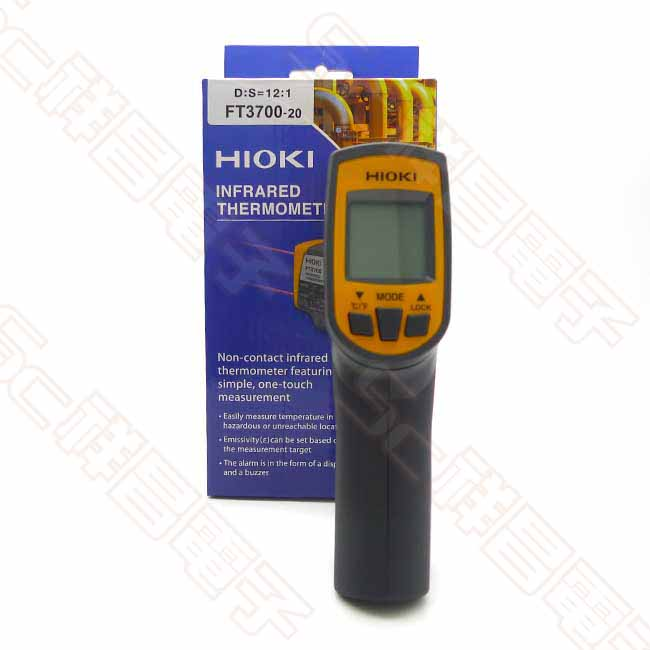 HIOKI FT3700-20 紅外線溫度計 紅外線測溫儀 溫度槍 手槍式測溫槍