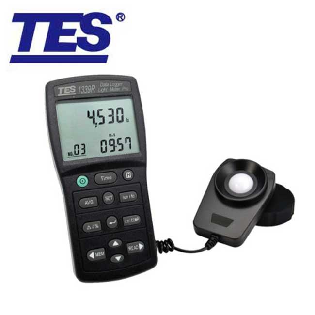TES-1339R 專業級照度計 (RS-232介面)