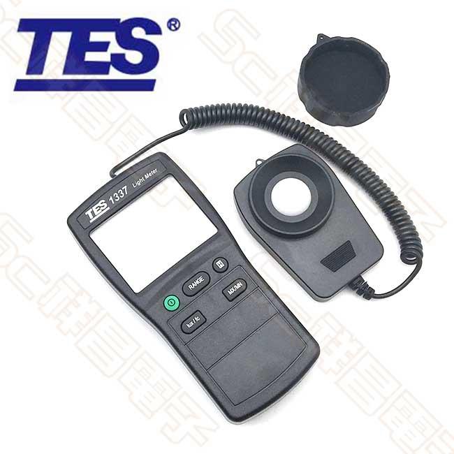 TES泰仕 TES-1337 20000Lux六檔位數位照度計