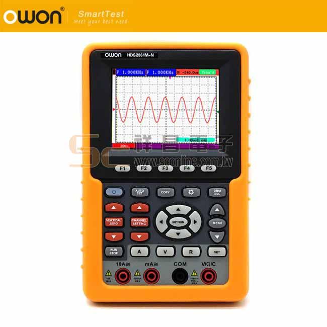 OWON HDS2061M-N手持式示波器