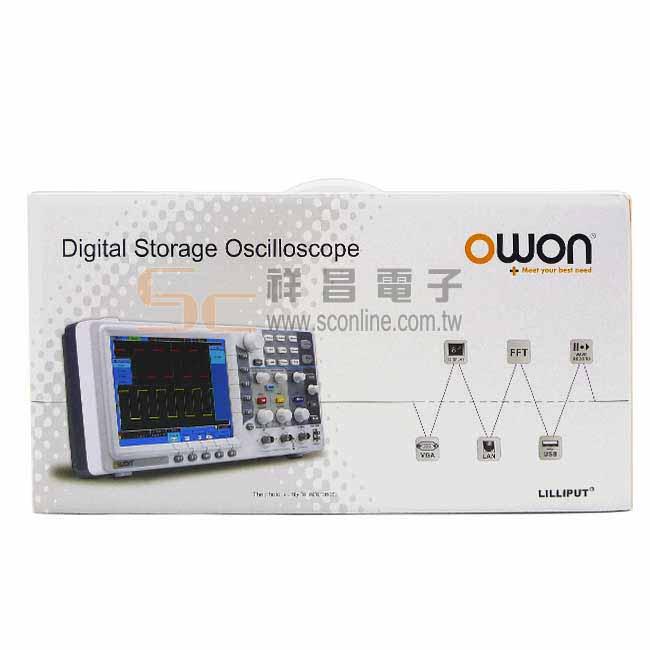 OWON  100MHz雙通道數位儲存 示波器 SDS7102EV