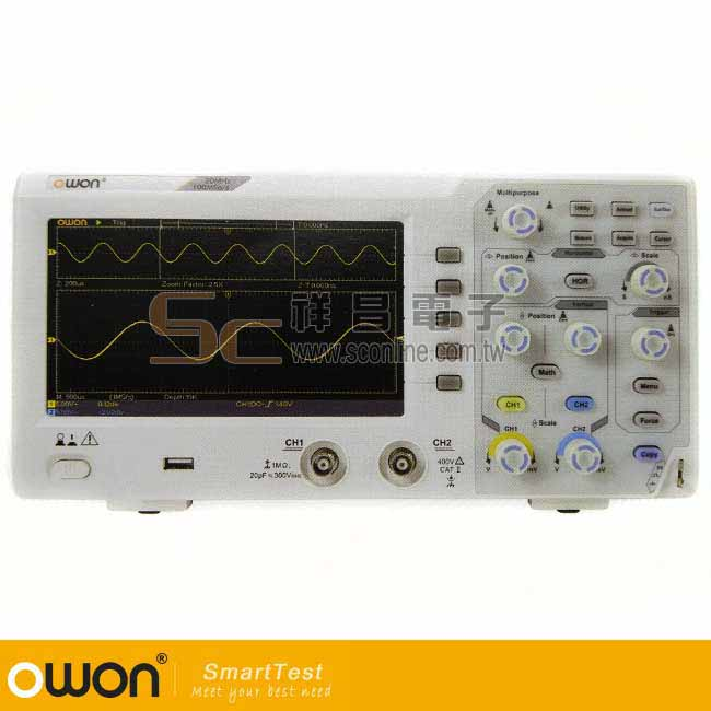 OWON SDS1052數位示波器