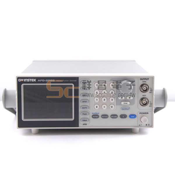 固緯 AFG-2025 任意波函數信號產生器