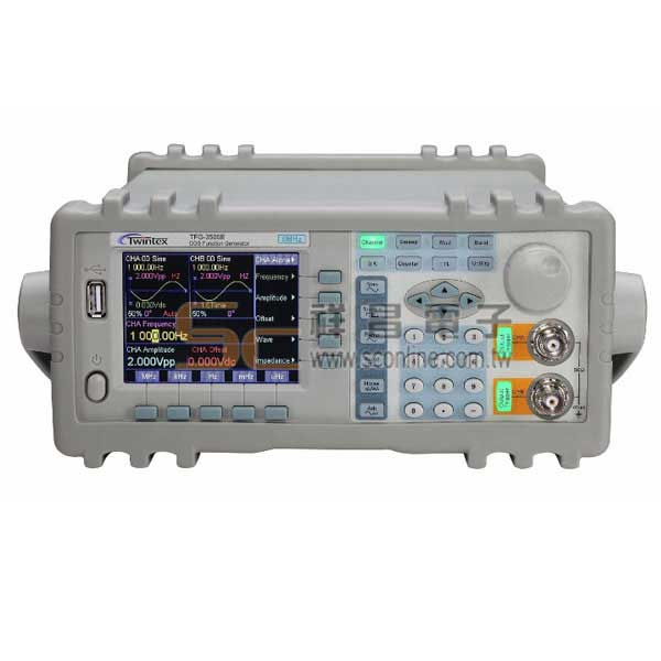 Twintex TFG-3510E (40mHz~10MHz) DDS 雙輸出信號產生器